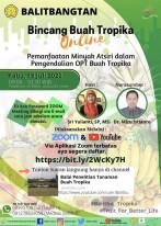 Pemanfaatan Minyak Atsiri dalam Pengendalian OPT Buah Tropika
